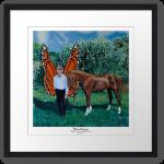 Mick and Trampas framed