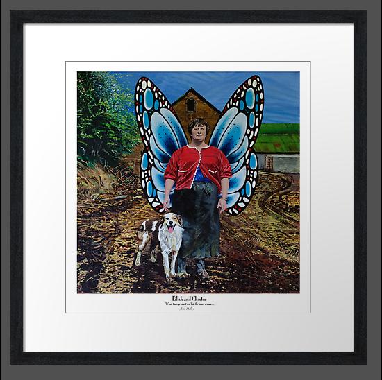 Eilish and Chester framed