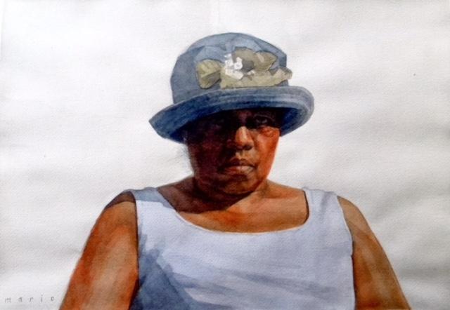 Mario Robinson Morning in Harvest