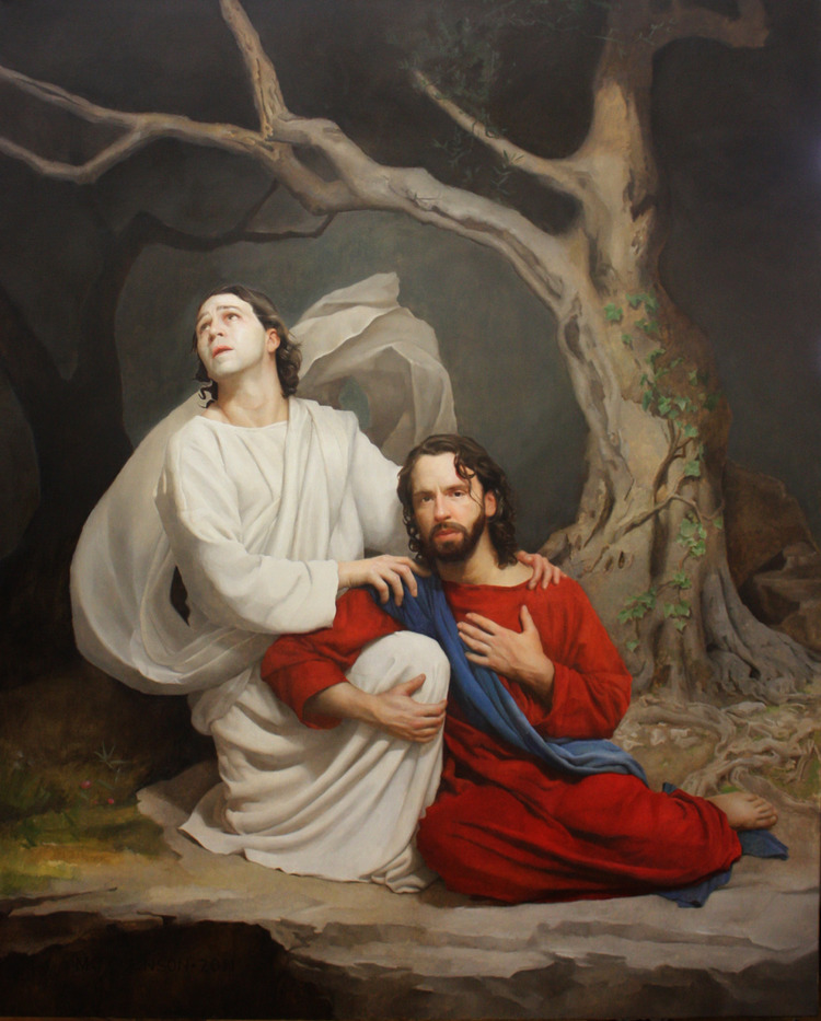 Gethsemane by Gregory Mortenson