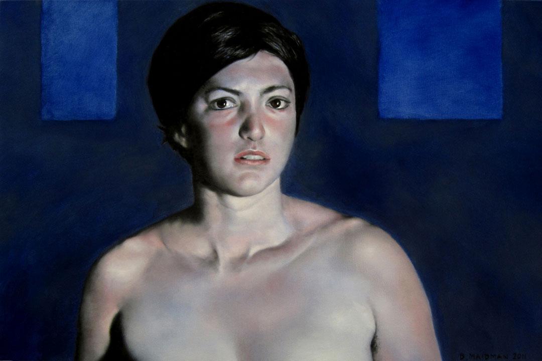 Blue Leah by Daniel-Maidman