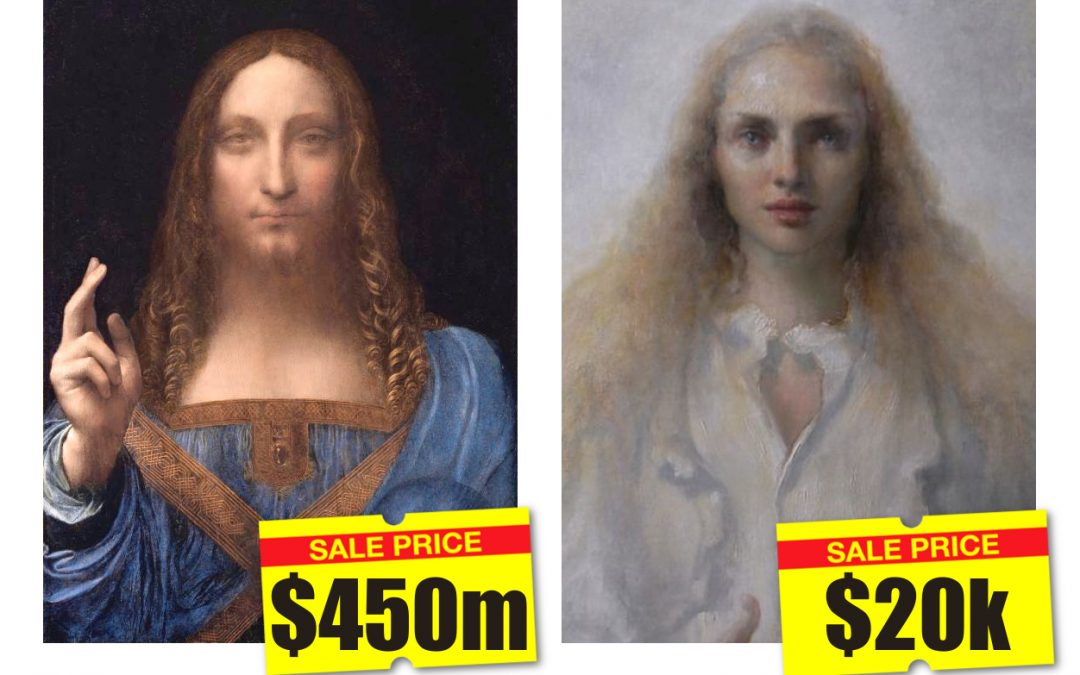 Old Renaissance Painting Sells For Elephant Bucks. New Renaissance Paintings Sell For Peanuts.