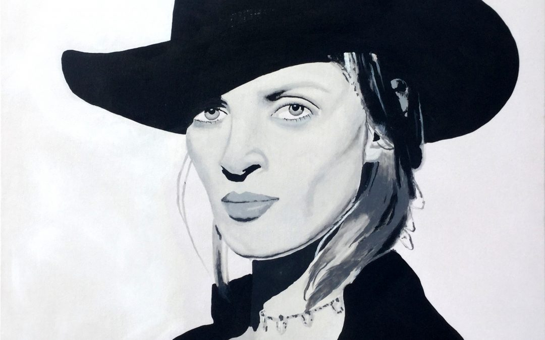 Uma Thurman by John Dalton
