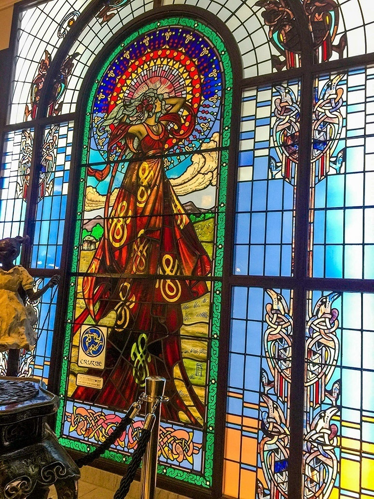 Jim Fitzpatrick Cruitine Window