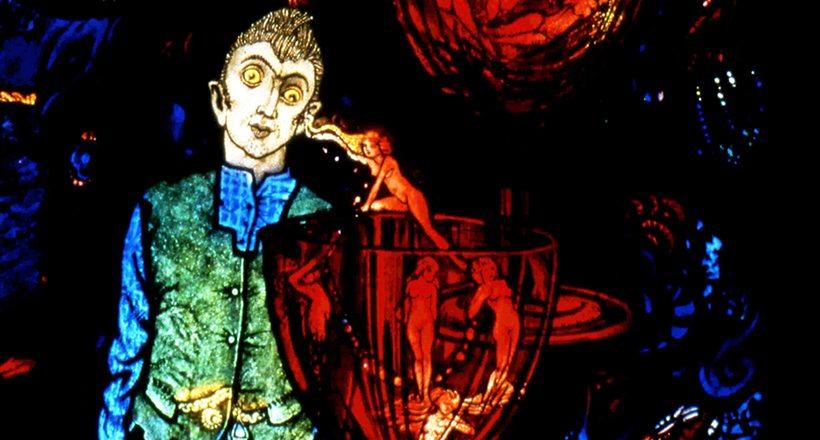 Section of Harry Clarke Geneva Window