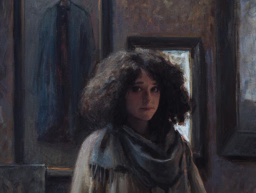 Daniela Astone self portrait detail