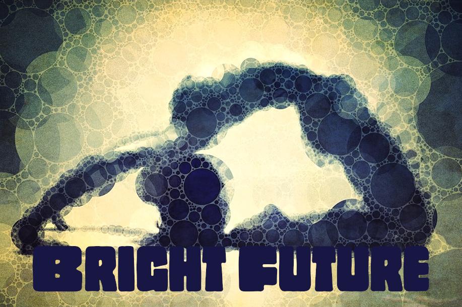 Yoga Art 17- Bright Future - John Dalton