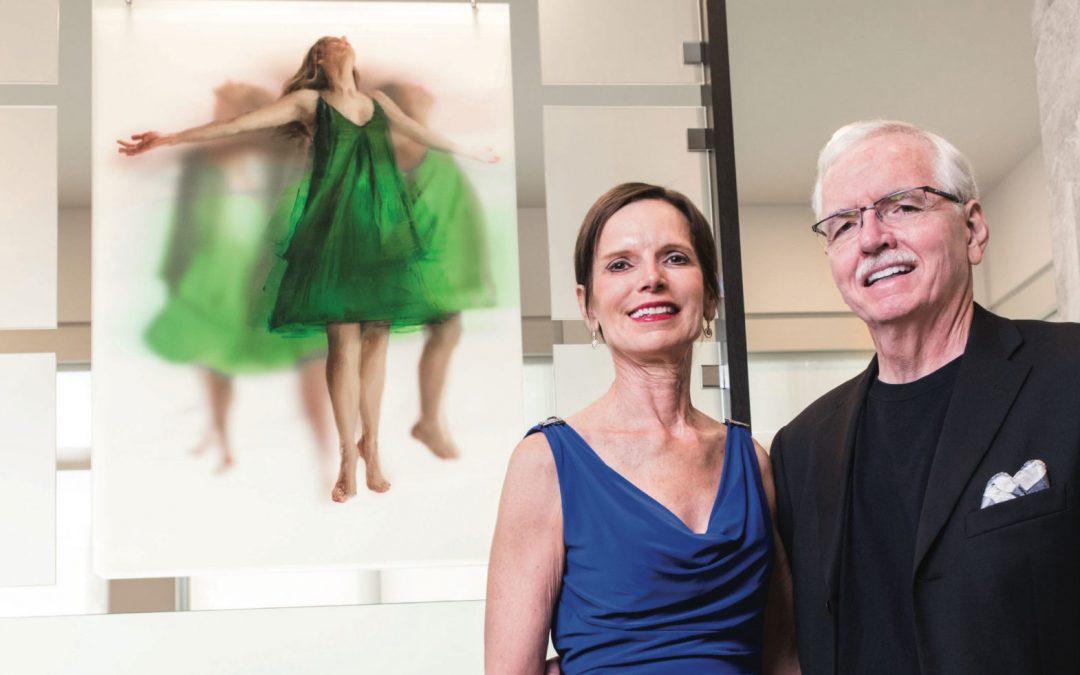 Dr. Elaine Melotti Schmidt and Steven Bennett