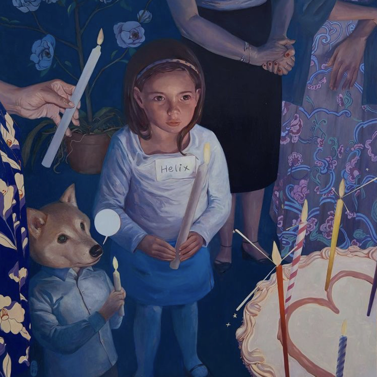 Cake ( may all your wishes come true) by Helice wen