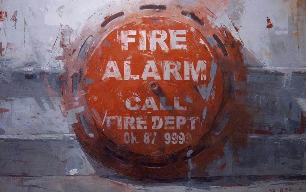 Fire Alarm by Agnieszka Pilat